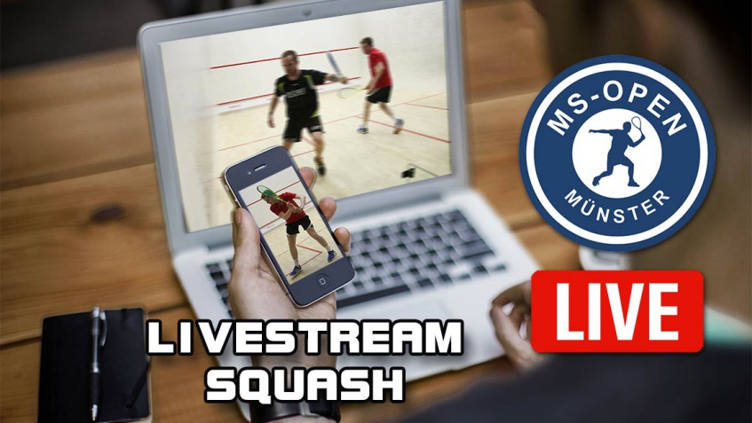 Livestreaming vom Center-Court der MS-Open