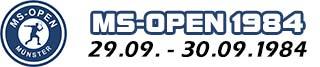 MS-Open 1984 - Squashturnier